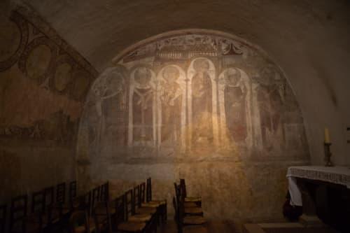 シャルトルのノートルダム大聖堂 壁画