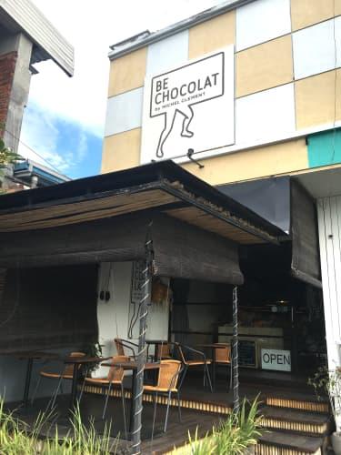 バリ島に二号店があるBe Chocolat