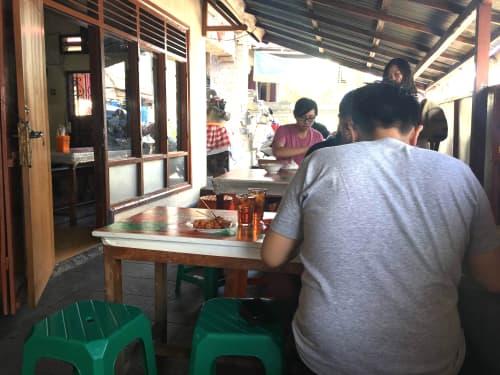 パッドビル レストラン バリ島