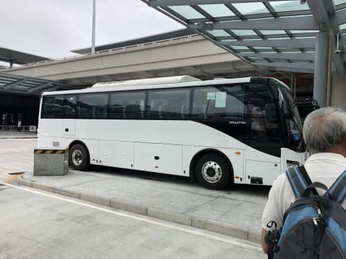 マカオ 「澳門口岸」バス