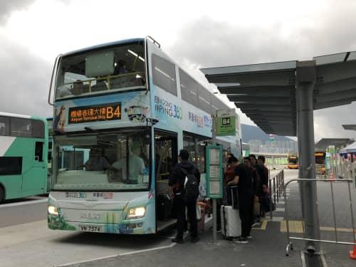 香港 澳門口岸 バス乗り場