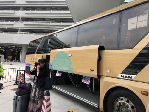 港珠澳大橋のシャトルバス