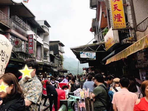 台北の人たちの秋の服装
