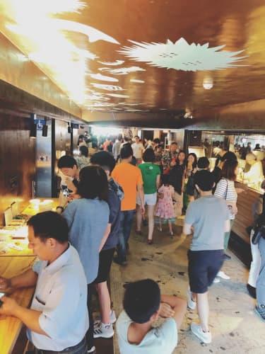 初夏の台北の人たち
