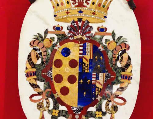 イタリア メディチ家の紋章