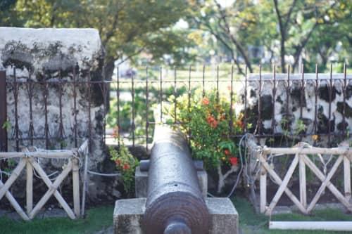 サン・ペドロ要塞の大砲