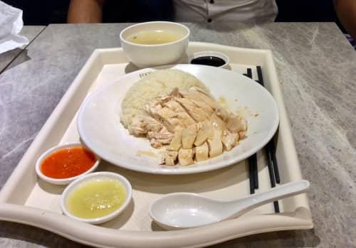 シンガポール 海南鶏飯(ハイナンチキンライス)