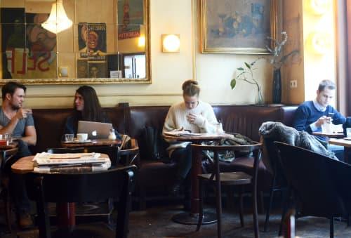 ブダペストのカフェ