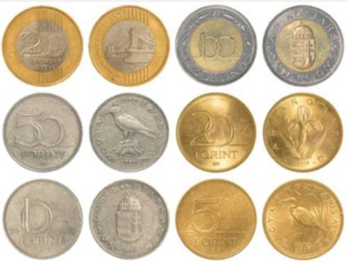 ハンガリーの硬貨