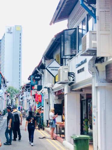 シンガポール トレンド発信地のハジレーン