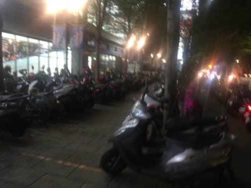 台湾のバイク