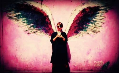 ロサンゼルスの天使の羽