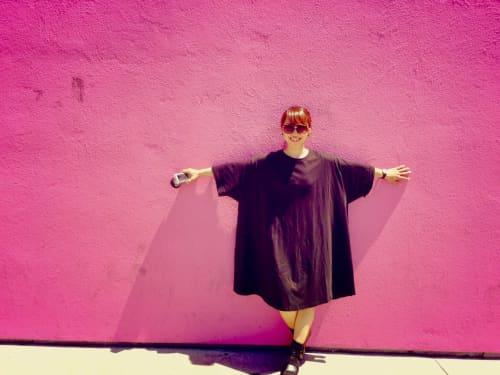ロサンゼルスのピンクの壁 ポールスミス