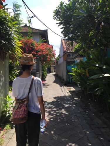 バリ島の街並み 風景