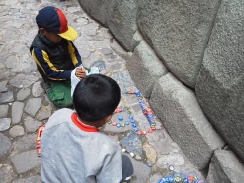 ペルーの子どもたち