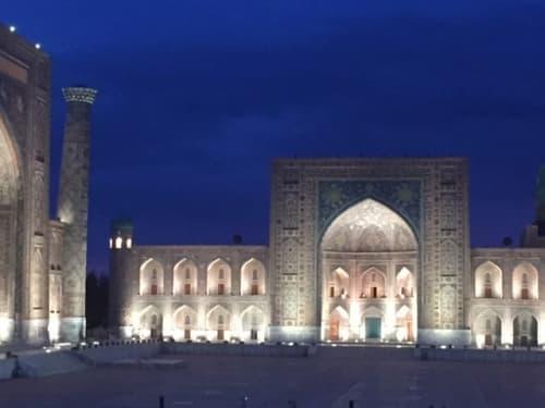 ウズベキスタンの風景