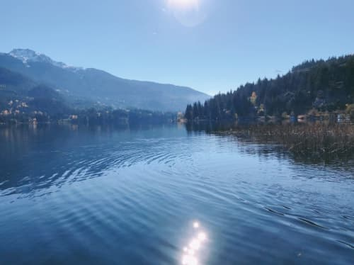 バンクーバーの湖