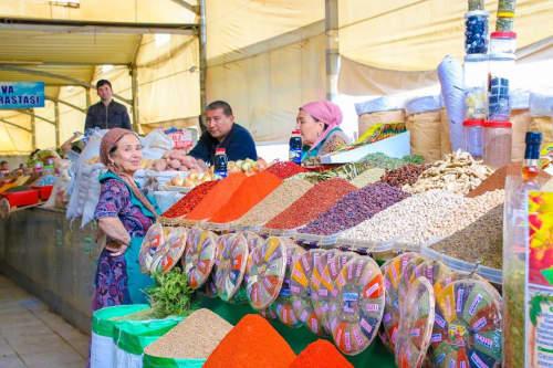 ウズベキスタンの市場
