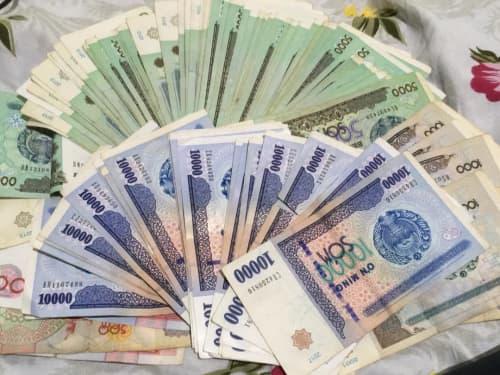 ウズベキスタン 通貨 スム