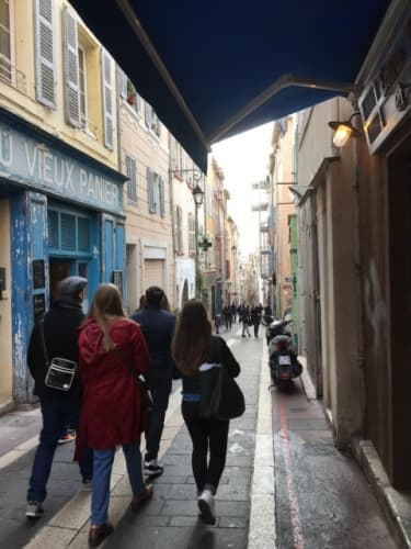 マルセイユの街並み