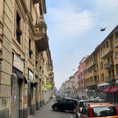 ミラノの街並み