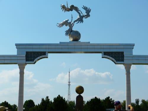 ウズベキスタン タシケントの風景
