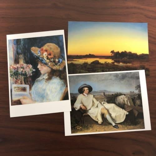 シュテーデル美術館のポストカード