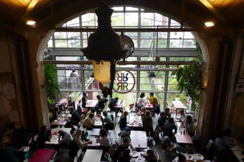 廃線駅のカフェレストラン・ラリシクルリー
