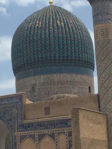 アミール・ティムール廟 サマルカンド
