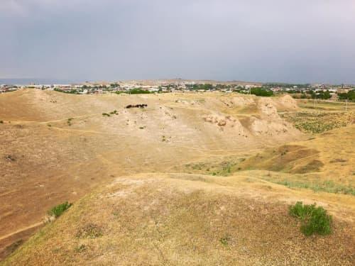 アフラシャブの丘 サマルカンド