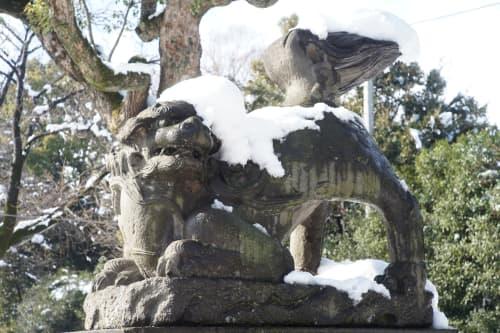 セブ島の彫像