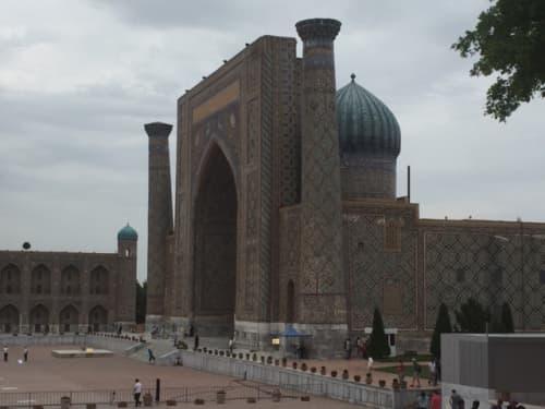 ビビハニム・モスク サマルカンド