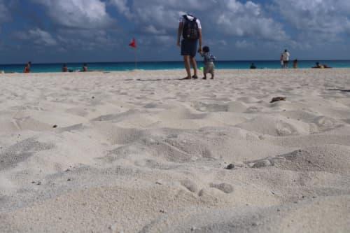 カンクンのビーチ