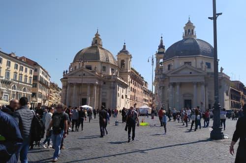 ローマの風景 春