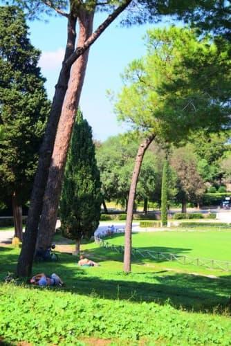 ローマの風景 秋