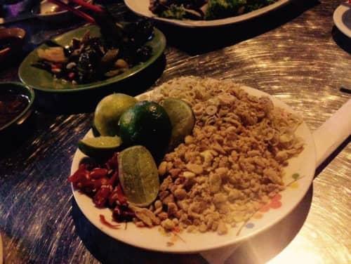 カンボジアの食事