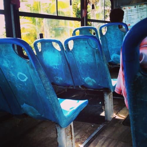 メキシコ・カンクンのバス