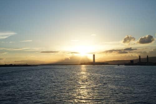 セブ島の日の出