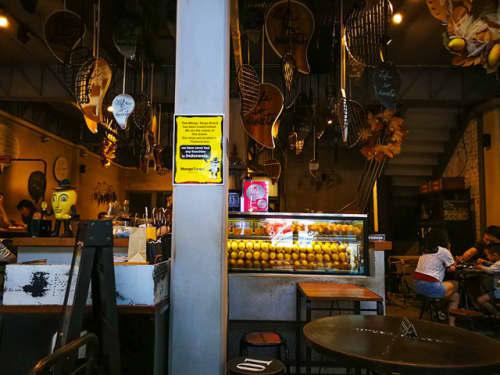 バンコクのカフェ・Mango Tango