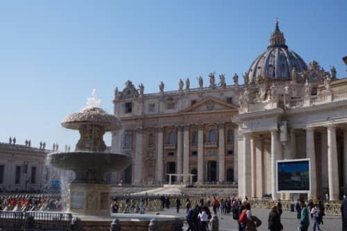 ローマ サンピエトロ大聖堂