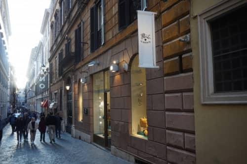 ローマで買い物