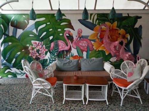 バリ島のカフェ