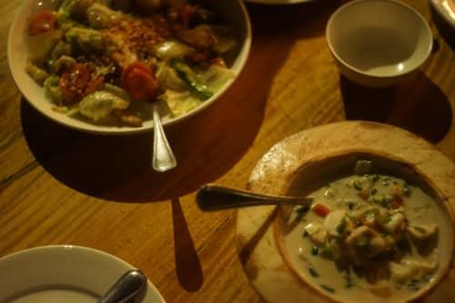 セブ島のバー・ランタウの食事