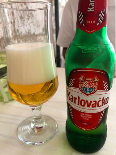 クロアチア・ドゥブロヴニク カルロバチコ ビール