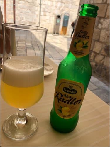 クロアチア・ドゥブロヴニク レモンビール