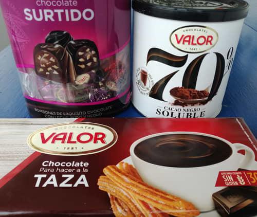 バルセロナのスーパーで買えるチョコレート