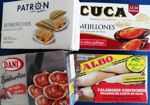 バルセロナの缶詰のお土産