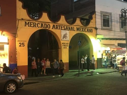 メキシコシティ 民芸品 メルカド・アルテサナル・メヒカーノ