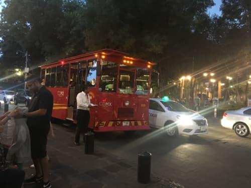 メキシコシティ トランビア