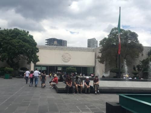 メキシコシティ 国立人類学博物館